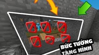 TROLL BỨC TƯỜNG TÀNG HÌNH trong SKYWARS l Minecraft