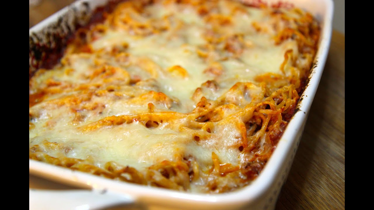 Baked Spaghetti - Cooked by Julie episode 246 - YouTube