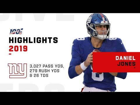 Daniel Jones Full Rookie Season Highlights | NFL 2019