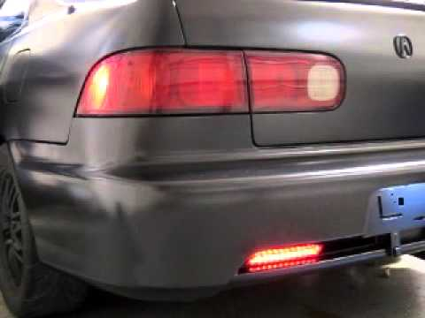 Integra GSR Sequential Tail Light Modification YouTube - 1999 acura integra tail lights