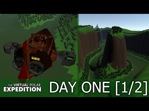 The Virtual Polar Expedition   DAY ONE [1/2]