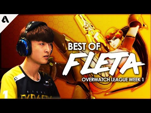Best of Plays of Seoul Dynasty Fleta | Overwatch League Stage 1 Week 1 Highlights