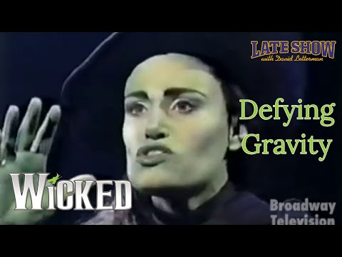 Idina Menzel  Defying Gravity  WICKED Late Show with David Letterman