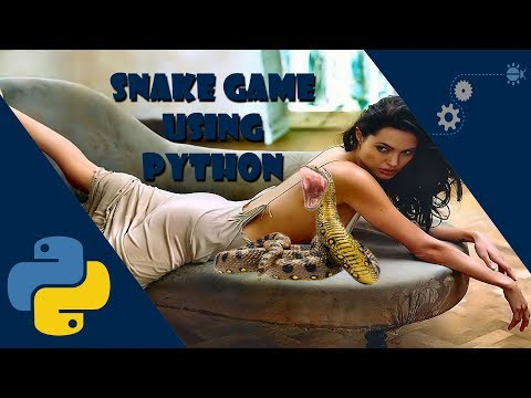 Tuto Py : Snake Game Using Python With Pygame And Tkinter // Speed Coding [HD]