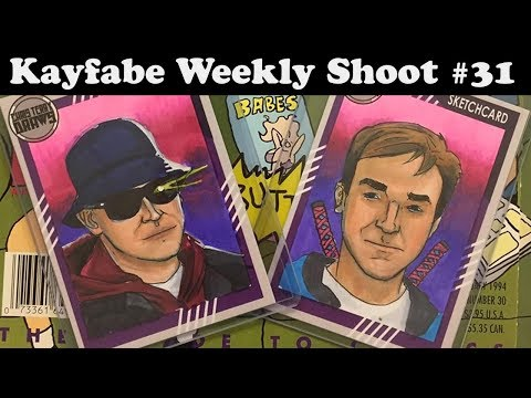 Jack Kirby's Birthday and a Call Out to Comic Shops, Kayfabe Weekly Shoot 31