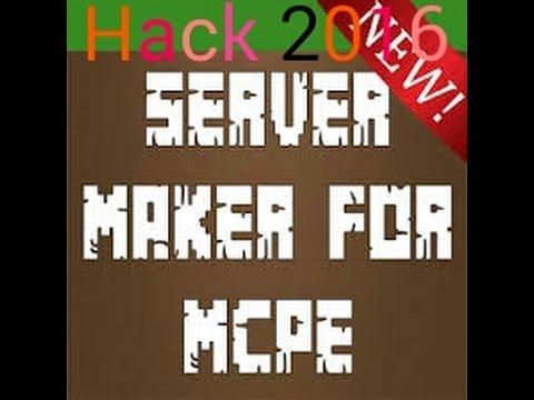 server maker for mcpe mod apk