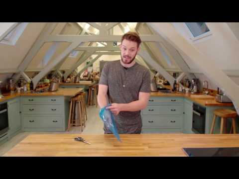 How To Assemble A Piping Bag & Nozzle By John Whaite - Bake with Stork