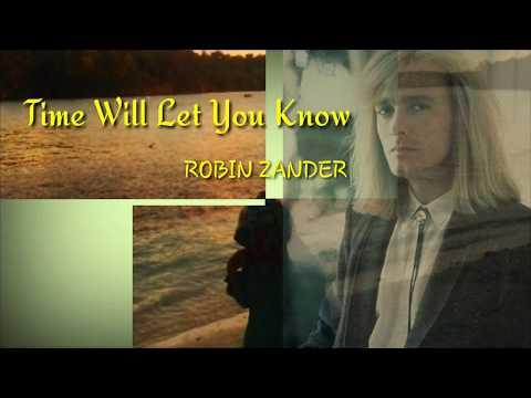 Time will let you know-Robin Zander (karaoke)