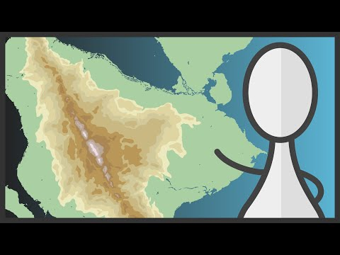 ATLAS MAP 2 | Ocean Currents, Mountains & Lakes