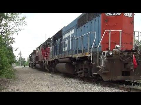 Farewell Grand Trunk SCRF 6415 IORY LSL Southern Pacifiac SD45