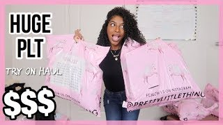 HUGE PRETTYLITTLETHING TRY ON HAUL!! | 2019