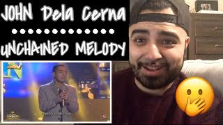 "Reaction to John Michael DeLa Cerna ""Unchained Melody"