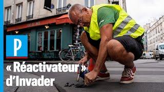 Vol d'oeuvres d'art : Lionel redonne vie aux créations du street-artist
