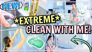 NEW!🍋EXTREME CLEAN WITH ME! ALL DAY CLEANING MOTIVATION | Alexandra Beuter