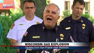 WISCONSIN GAS EXPLOSION: Firefighter killed in blast that leveled buildings (FNN)