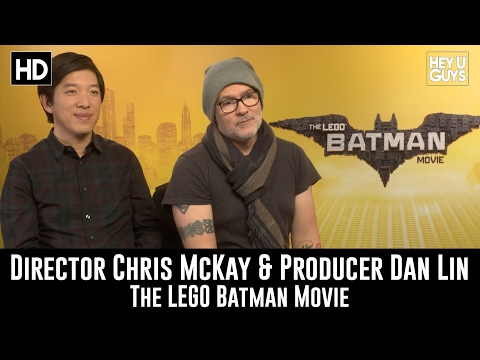 Director Chris Mckay & Producer Dan Lin Exclusive Interview - The LEGO Batman Movie