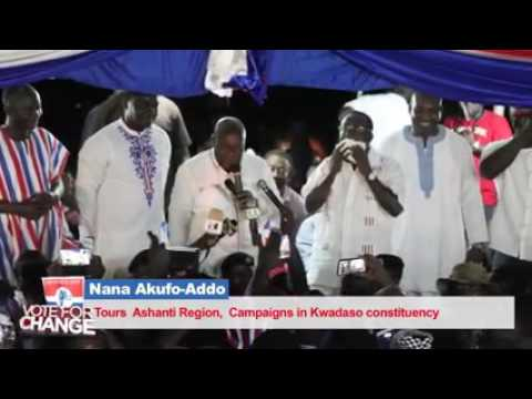 NPP - Night Rally in Kwadaso