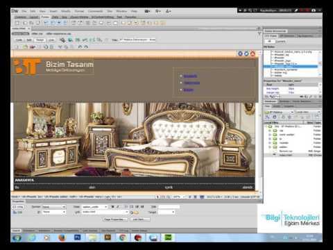 Bilgi Eğitim Web Sitesi Tasarım Dersleri