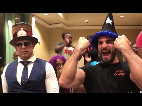 Seth Rollins battles The Miz on UpUpDownDown