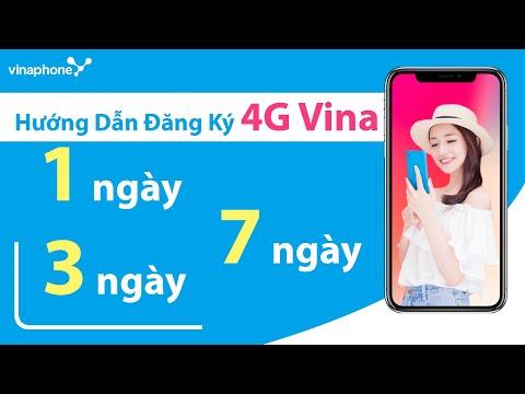 Hướng Dẫn Đăng Ký 4G Vinaphone 1 ngày, 3 ngày, 7 ngày - DS Gói Cước Mới Nhất của Vinaphone.