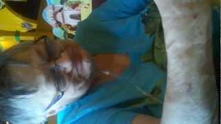 Barbara Lang, My mom at Torerros