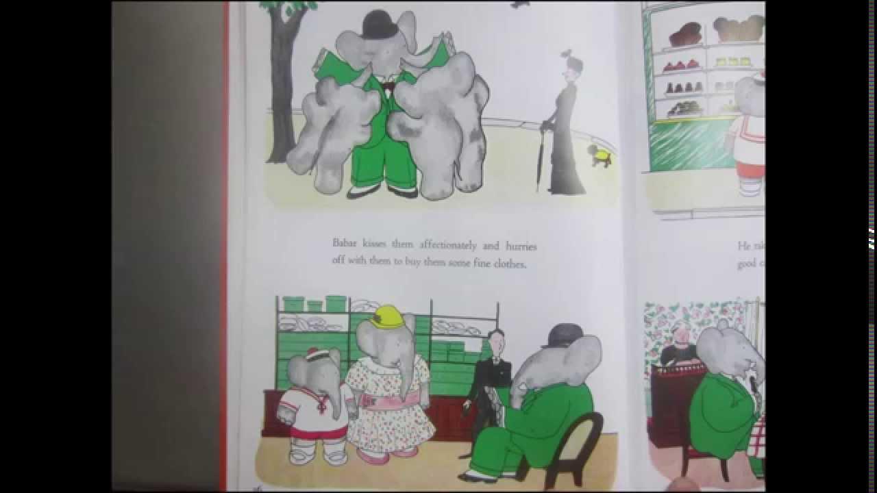 Bestseller 1934 The Story Of Babar The Little Elephant
