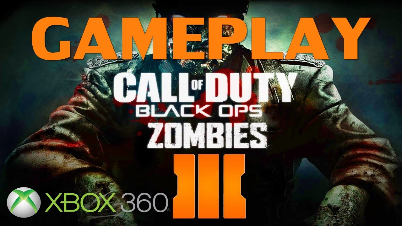 Gameplay Call Of Duty Black Ops 3 Zombies Xbox 360 Espanol Youtube