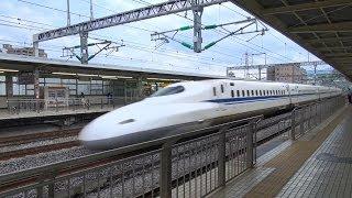【東海道新幹線】2013_小田原速度計測 passing Odawara thumbnail