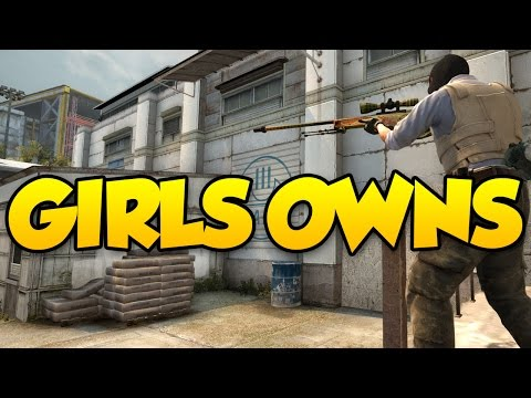 GIRL DESTROYS ME ON THE SCOREBOARD - CSGO COMPETITIVE SUB GAME