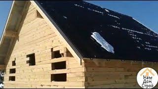 ДОМ ИЗ БРУСА ПОЛНЫЙ ФИЛЬМ / Строительство брусового дома от и до /Дом из дерева своими руками