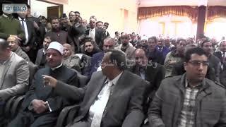 بالفيديو : محافظ سوهاج يعقد لقاءا مفتوحا لحل مشاكل أهالى مركز جهينة