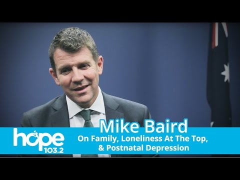 Mike Baird On Family, Loneliness At The Top—And Postnatal Depression