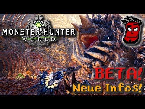 Monster Hunter World: Multiplayer Beta, Rotten Vale, neue Monster + Infos! Gameplay [German Deutsch]