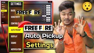 Free Fire Auto Pickup Settings Full Details | Free Fire Mein Auto Pickup Kya Hota Hai