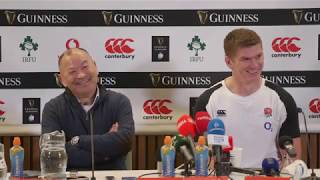 Press Conference: Eddie Jones and Owen Farrell | Ireland 20 - 32 England | Guinness Six Nations