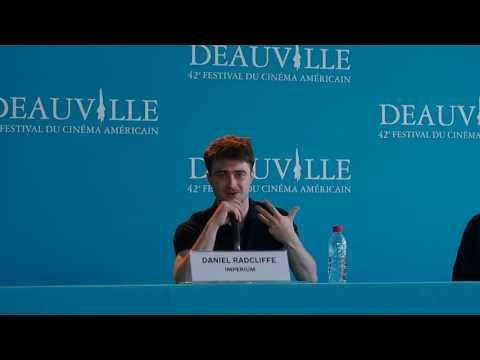 [Deauville 2016] Imperium press conference with Daniel Radcliffe & Daniel Ragussis