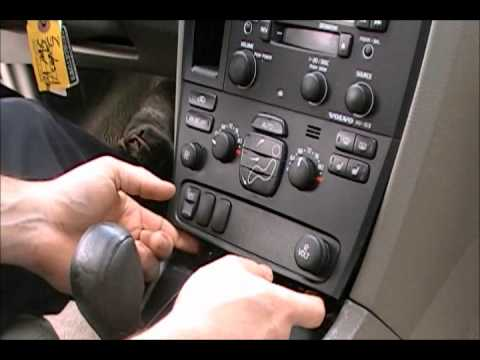 hqdefault how to remove & install your volvo v70 s60 s80 heater a c control  at panicattacktreatment.co