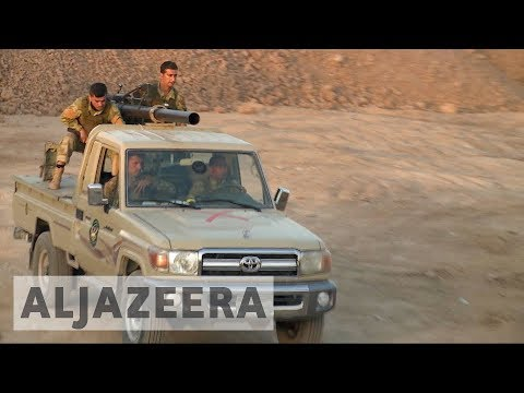 Iraqi, Peshmerga forces standoff as tensions rise in disputed Kirkuk