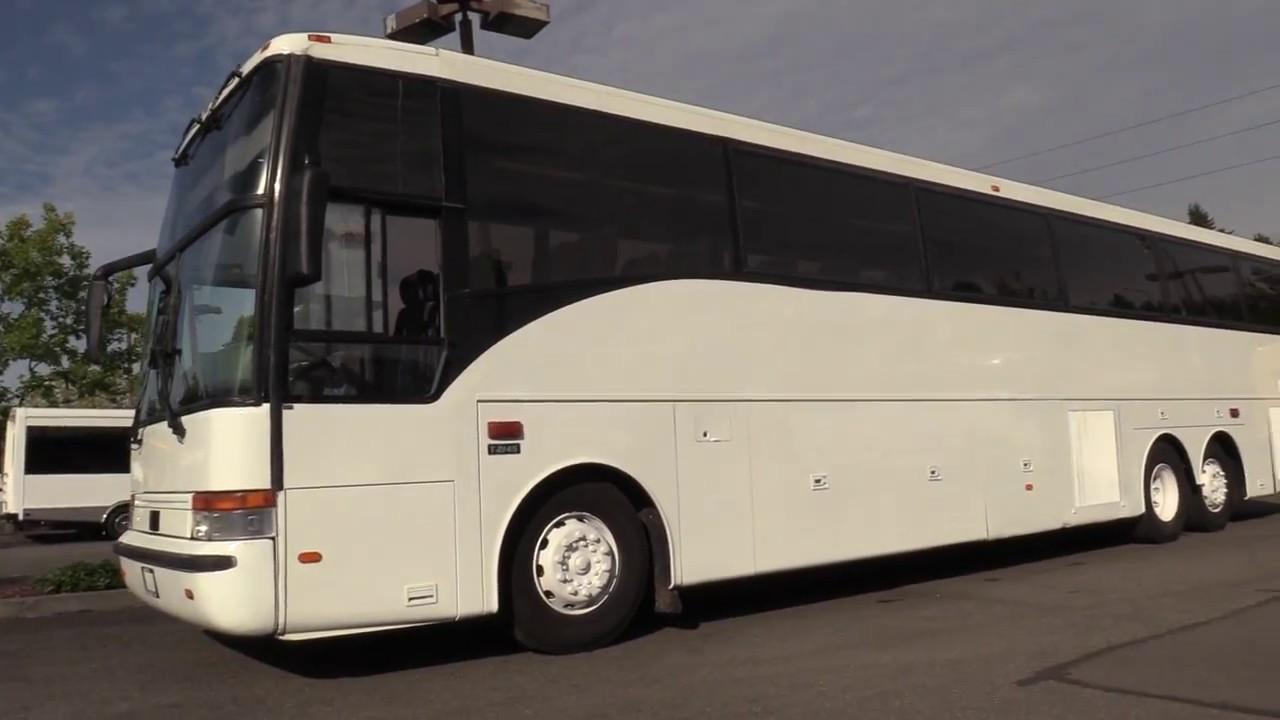 medium resolution of 2000 vanhool t2145 57 passenger bus c43857 youtube 2001 van hool c2045 wiring diagram