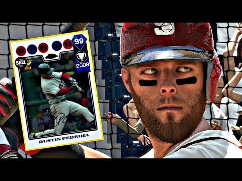 99 DUSTIN PEDROIA DEBUT!! MLB THE SHOW 17 DIAMOND DYNASTY