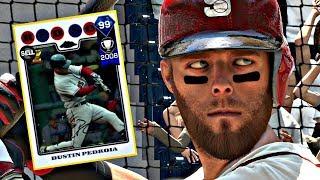 Video 99 DUSTIN PEDROIA DEBUT!! MLB THE SHOW 17 DIAMOND DYNASTY download MP3, 3GP, MP4, WEBM, AVI, FLV November 2017