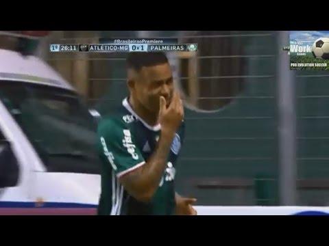 Atletico MG 1 x 1 Palmeiras, Melhores Momentos, Brasileirão 2016
