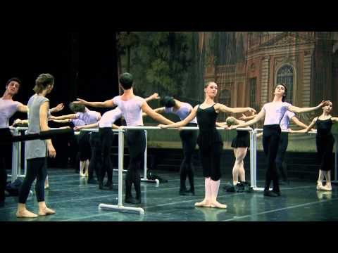 Principal Dancers of New York City Ballet Stars Master Class a Roma