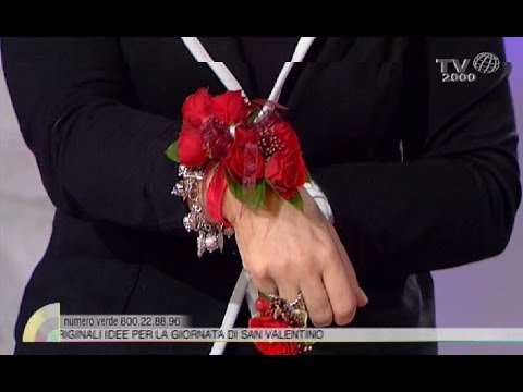 Realizziamo un bracciale con i fiori per san valentino youtube - Decori per san valentino ...