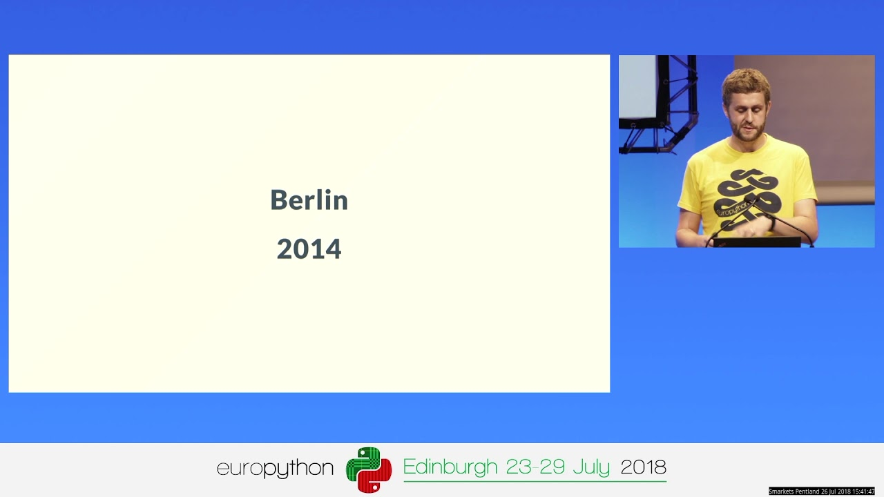 Image from 10 years of EuroPython and the Python community