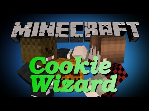 Minecraft The Cookie Wizard Adventure Map Part 1 | JeromeASF
