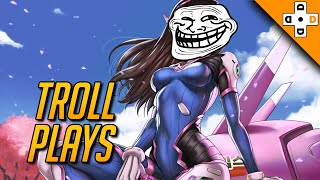OVERWATCH TROLL PLAYS - Funny Taunts, BMs, and Rage Moments