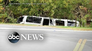 Investigation underway of limo crash that killed 20