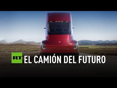 Tesla presenta su futurístico camión eléctrico