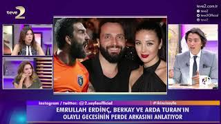 2. Sayfa: Arda Turan ve Berkay hastanede neler yaşadı?